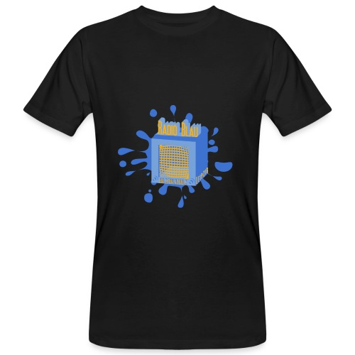 Tintenfleck Radio - Männer Bio-T-Shirt