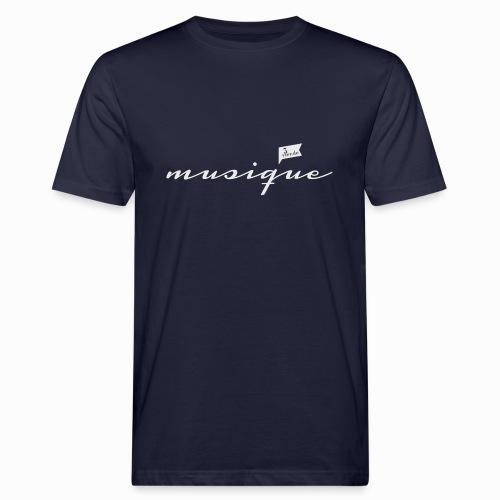 musique_französisch_3 - Männer Bio-T-Shirt