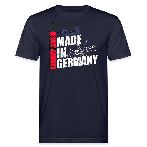 Global Fireworks Knaller - Männer Bio-T-Shirt