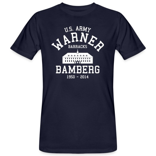 Barracks Germany - Männer Bio-T-Shirt