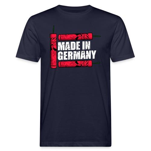 Silvester Feuerwerk Deutsche Knaller - Männer Bio-T-Shirt