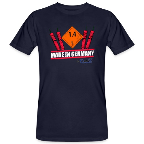 Global Fireworks 1.4G - Männer Bio-T-Shirt