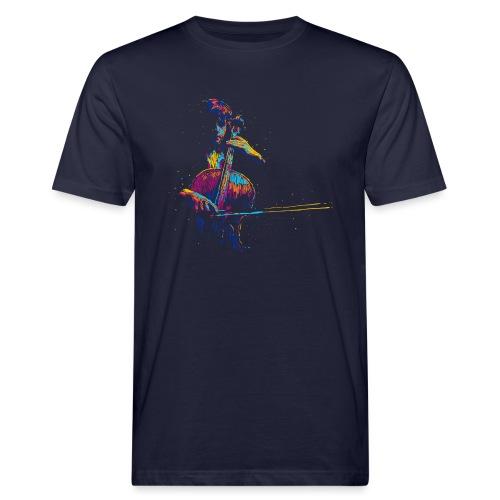 Muusic - T-shirt ecologica da uomo