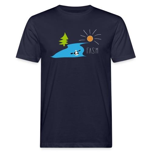 FASM - Kajakverein Design 2019 - Männer Bio-T-Shirt