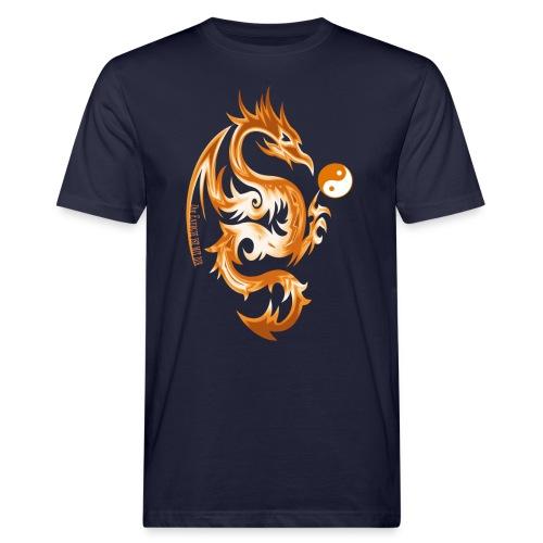 Der Drache spielt mit der Energie des Lebens. - Männer Bio-T-Shirt