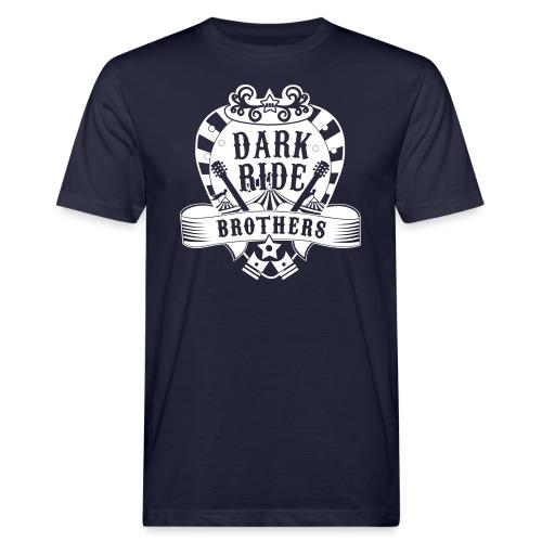 Dark Ride Brothers - Miesten luonnonmukainen t-paita