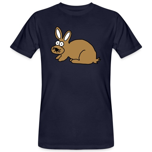 Hase - Männer Bio-T-Shirt