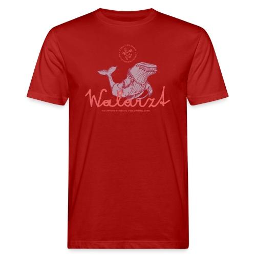 Der Walarzt - Männer Bio-T-Shirt