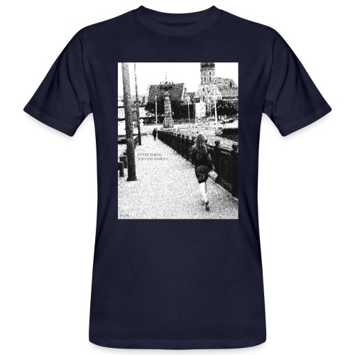 Woman on the bridge - Männer Bio-T-Shirt