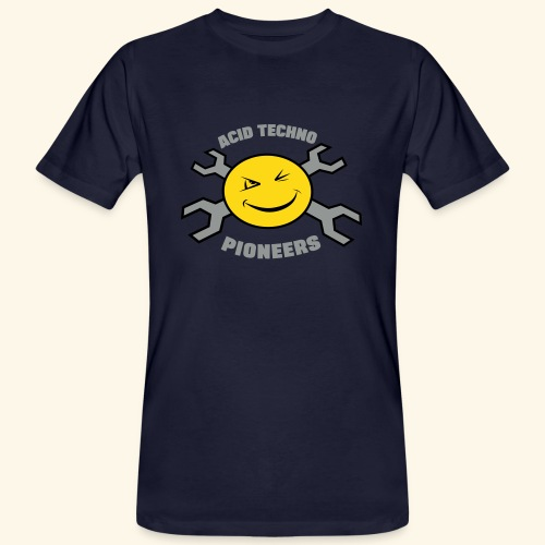 ACID TECHNO PIONEERS - SILVER EDITION - Men's Organic T-Shirt