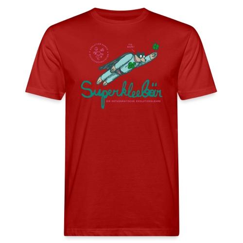 Der Superkleebär - Männer Bio-T-Shirt