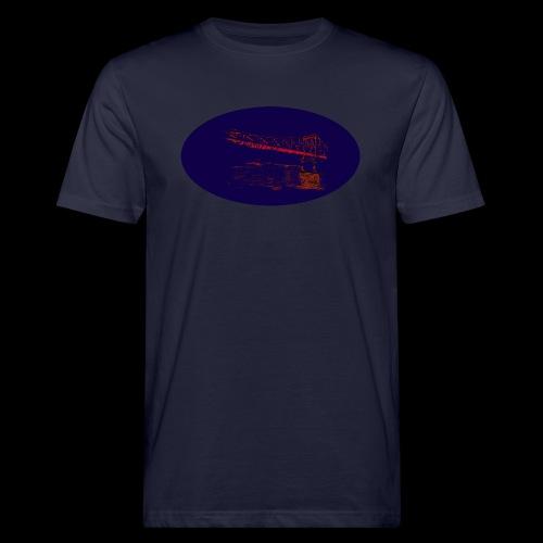 Eiserner Steg Frankfurt - Männer Bio-T-Shirt