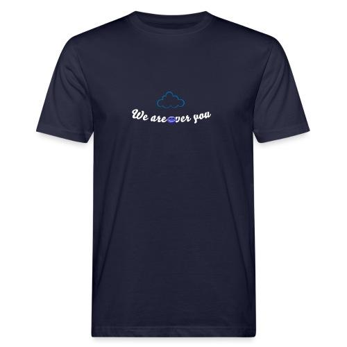We are over you - T-shirt ecologica da uomo