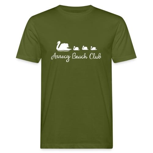 Annecy Beach club - Cygnes - T-shirt bio Homme