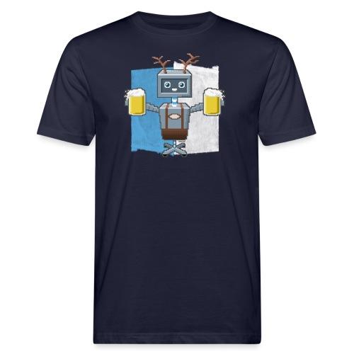 Roboter - Männer Bio-T-Shirt
