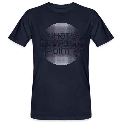 WHAT S THE POINT gris noir - T-shirt bio Homme