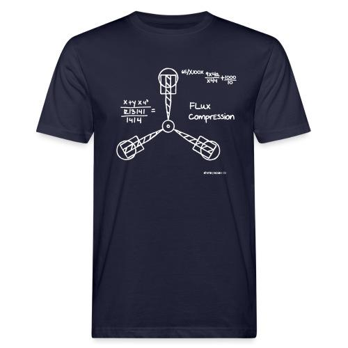 Fluxkompensator | Logo - Männer Bio-T-Shirt
