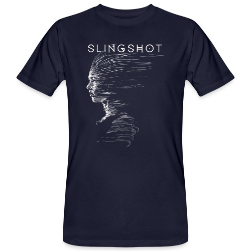 Slingshot with title - Men's Organic T-Shirt