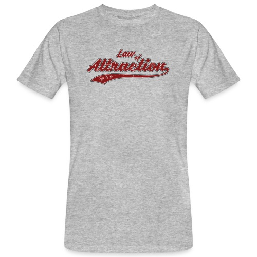 Law of Attraction Vintage - T-shirt bio Homme