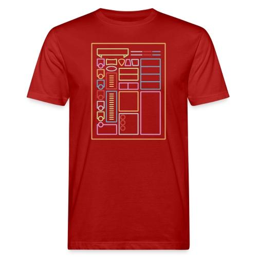Dnd-merkkilehti - DnD Dungeons & Dragons D & D - Miesten luonnonmukainen t-paita