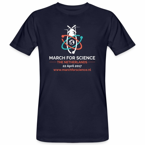 MfS-NL logo dark background - Men's Organic T-Shirt