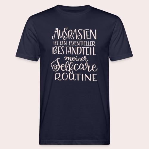 Selfcare Routine - Männer Bio-T-Shirt