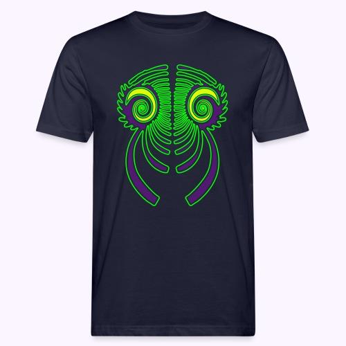 Fractal Dragon 3 color 2 - Men's Organic T-Shirt