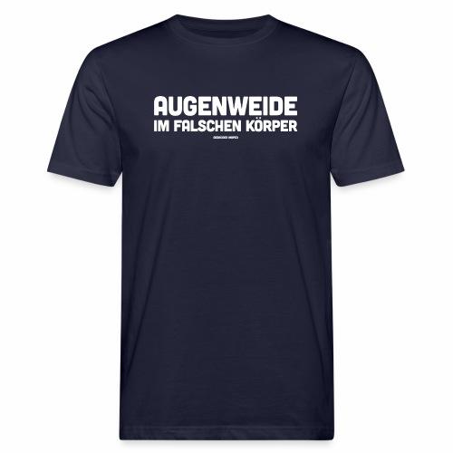 Augenweide - Männer Bio-T-Shirt