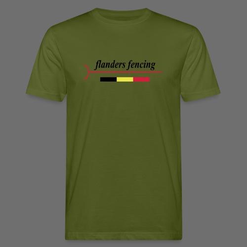 Flanders Fencing BE - Mannen Bio-T-shirt
