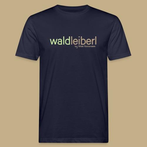 waldleiberl logo by reini rossmann - Männer Bio-T-Shirt