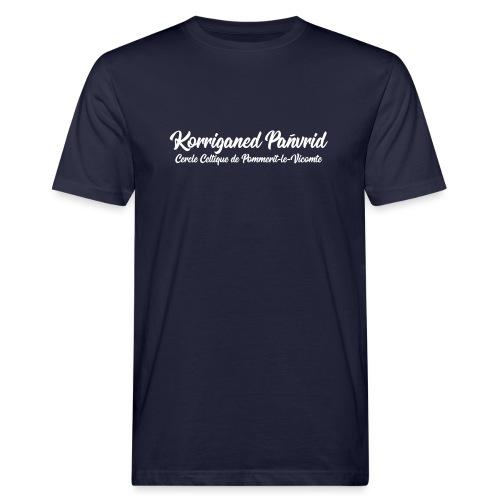 Nom Korriganed Pañvrid V2 - T-shirt bio Homme