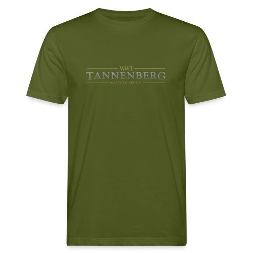 New Tannenberg Official Logo - Mannen Bio-T-shirt