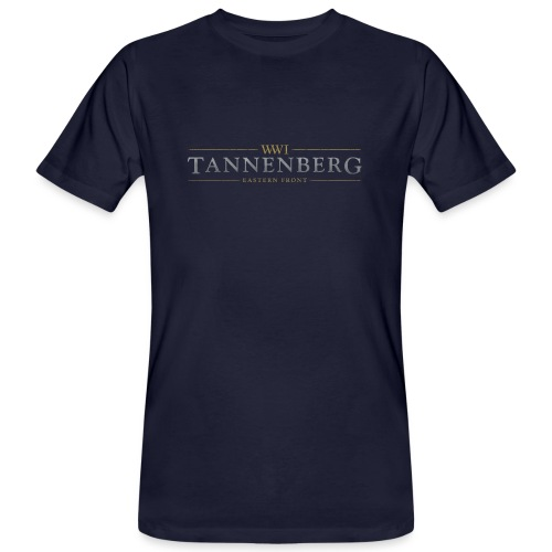New Tannenberg Official Logo - Mannen Bio-T-shirt