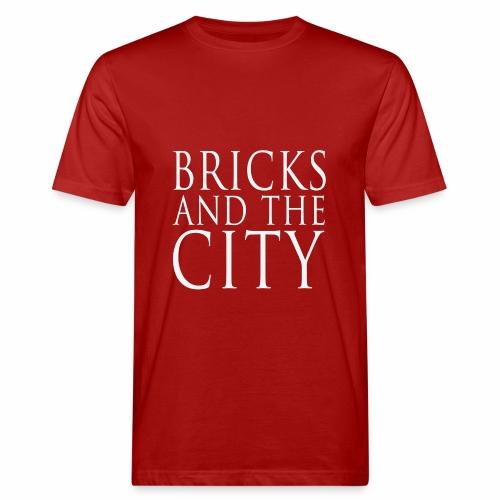 Bricks and the City (square) - T-shirt ecologica da uomo