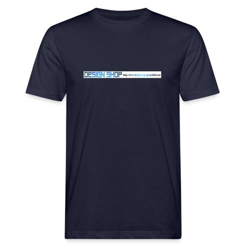 ny logo lang - Økologisk T-skjorte for menn