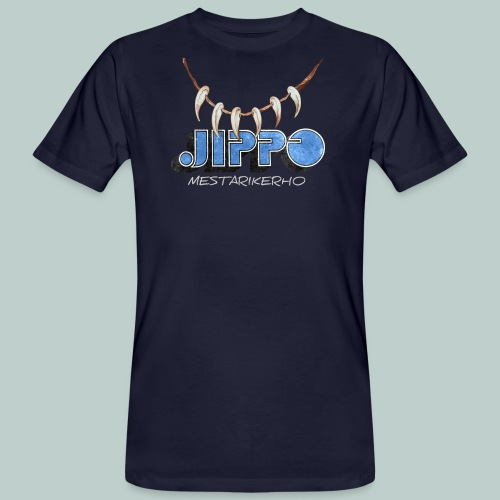 Jippomestari - Miesten luonnonmukainen t-paita