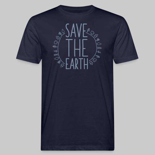 Safe the Earth - Männer Bio-T-Shirt