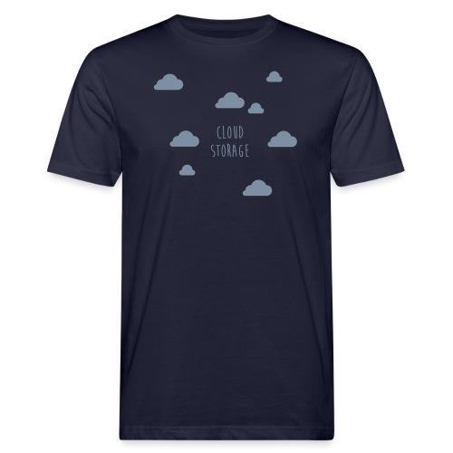 Cloud Storage - Männer Bio-T-Shirt
