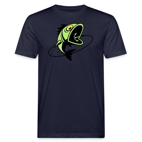 VL107B_BigFish_3c - Männer Bio-T-Shirt