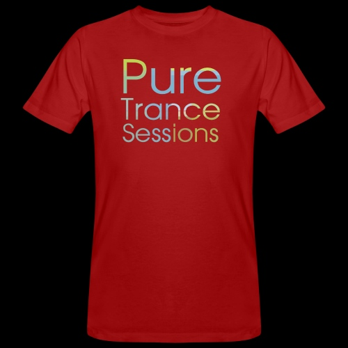 PureTrance100 transparantGROOT kopie png - Men's Organic T-Shirt