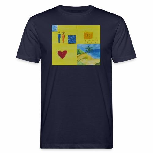 Viererwunsch - Männer Bio-T-Shirt