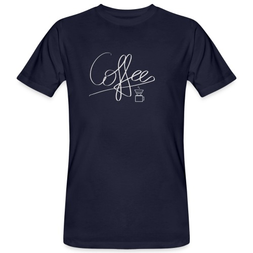 Coffee - Männer Bio-T-Shirt