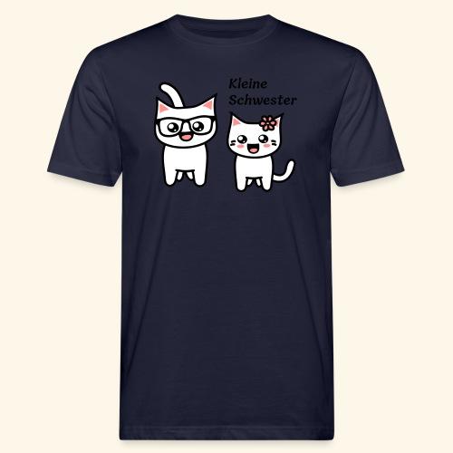 Kleine Schwester - Männer Bio-T-Shirt