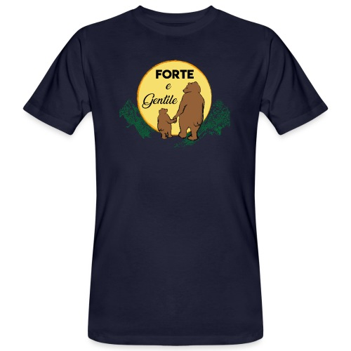 Forte e gentile - T-shirt ecologica da uomo