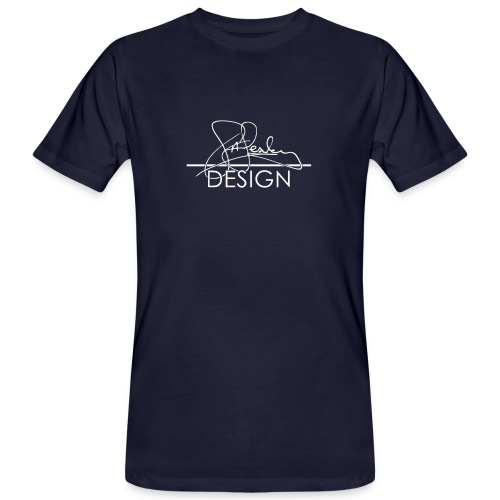 sasealey design logo wht png - Men's Organic T-Shirt