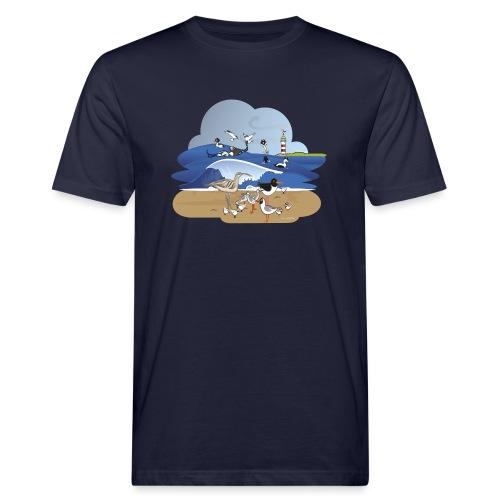 See... birds on the shore - Men's Organic T-Shirt