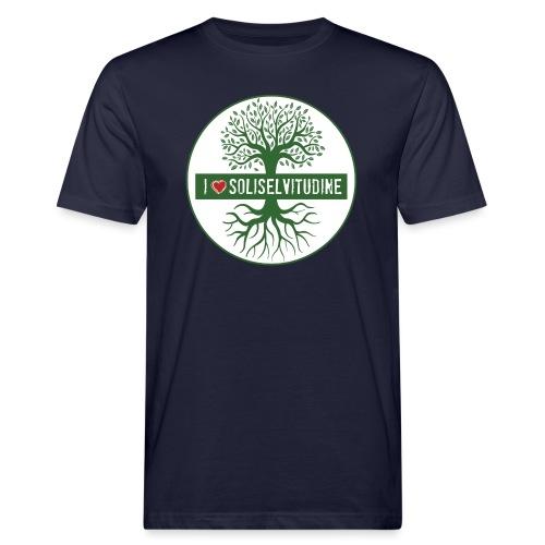 soliselvitudine - T-shirt ecologica da uomo