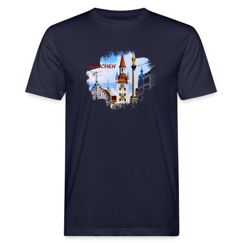 München Spielzeugmuseum und Altes Rathaus - Männer Bio-T-Shirt