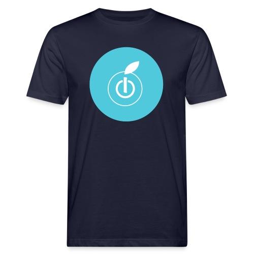 AppleZein Logo Grande - T-shirt ecologica da uomo
