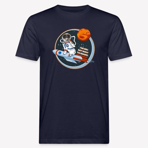 Astrodog - Männer Bio-T-Shirt